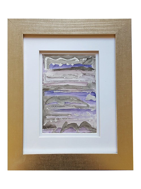 Framed Watercolor- WC2418.5