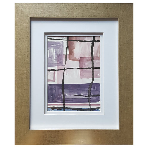 Framed Watercolor- WC1217.7