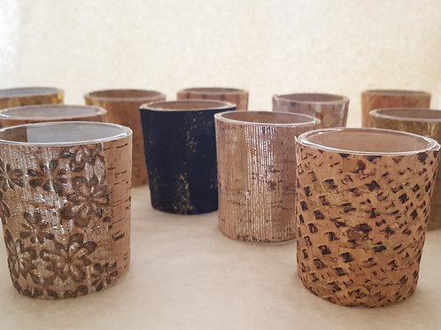 Cork Votive Holder