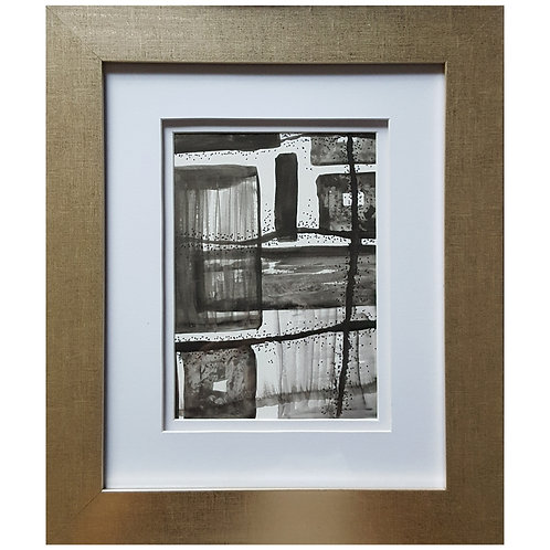 Framed Watercolor- WC1217.8