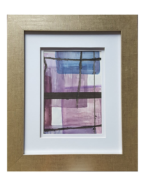 Framed Watercolor- WC1217.5