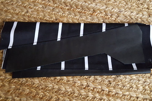 PRE-ORDER of Pin Stripe Redemption Clutch