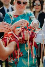 Handfasting wedding in France