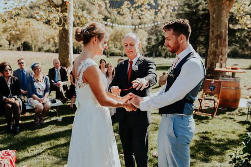 Handfasting an ancient ritual for weddings