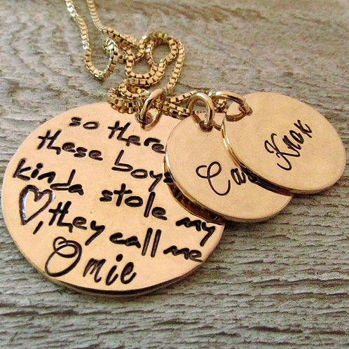 So There's This Boy Omie Necklace - Personalized