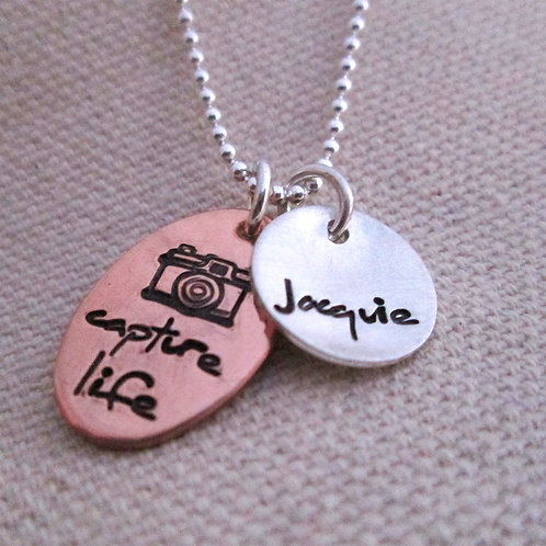 Capture Life Photography Necklace