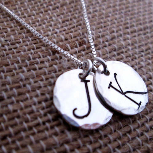 Barmbrack Initials 2 - Mothers Jewelry