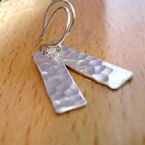 Shimmer Rectangle Earrings