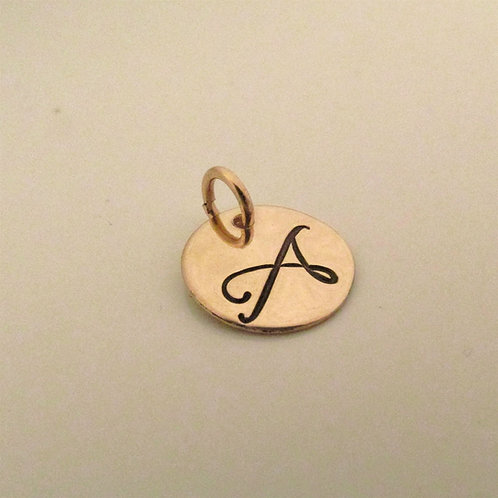 Small charm - gold filled charm