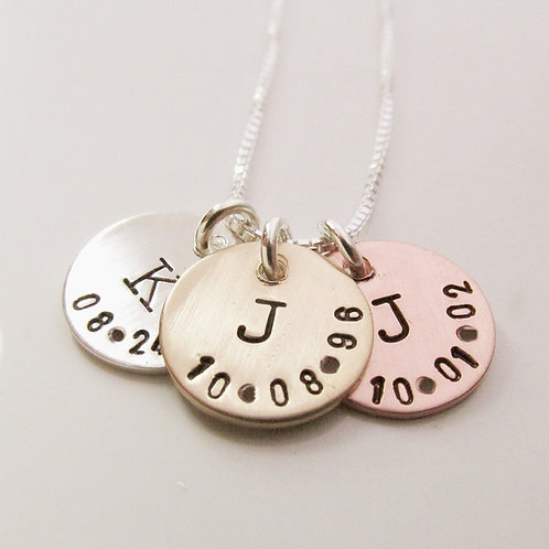 Personalized Necklace - Little Initial Necklace -