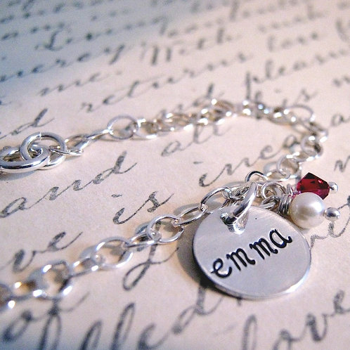 Initially Sweet - Personalized Bracelet