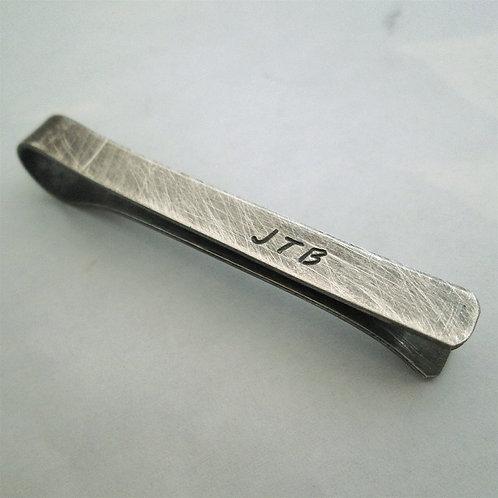 Men's Tie Bar - Sterling silver Tie Clip