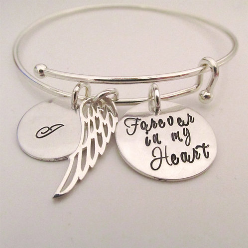 Forever in my Heart - Remembrance Jewelry