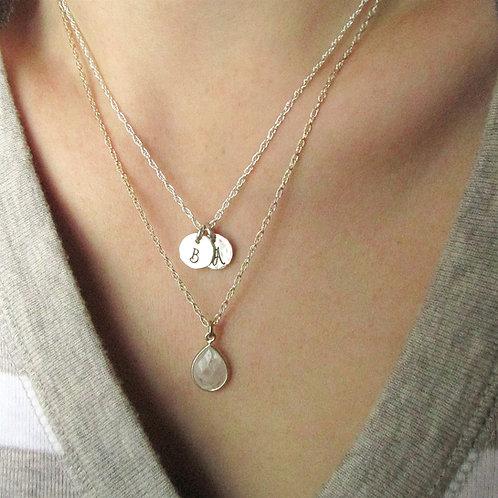 Layered Necklace Set - Set of 2