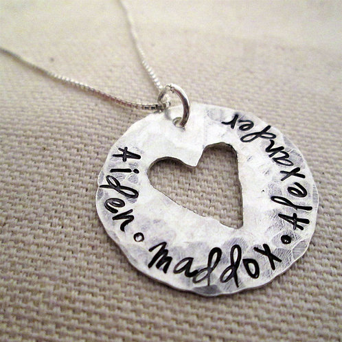 Whole Hearted Mothers Necklace