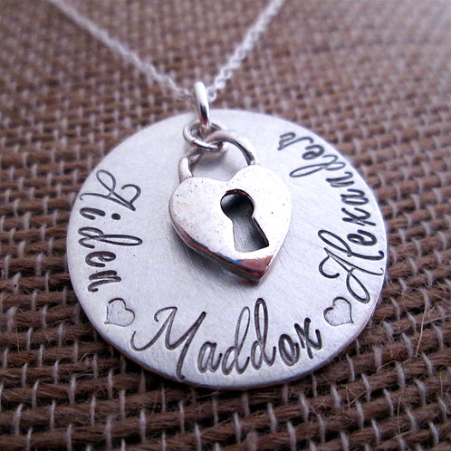 Personalized Jewelry- Charming Love
