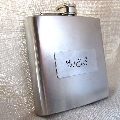 Personalized Flask - Groomsman Gift