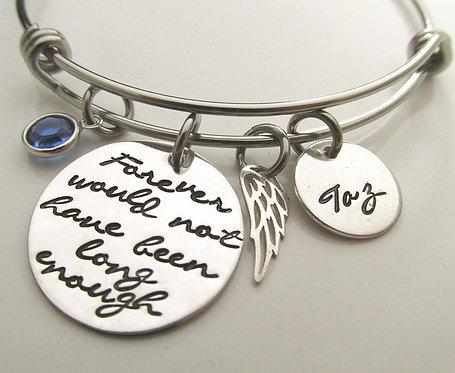 Personalized Sympathy Gift - Memorial Bracelet