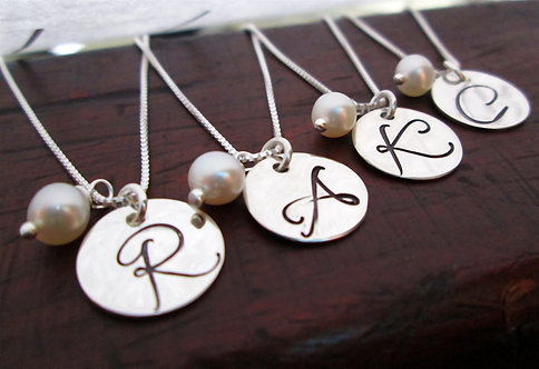 Daniella Bridesmaid Necklaces - Set of 4