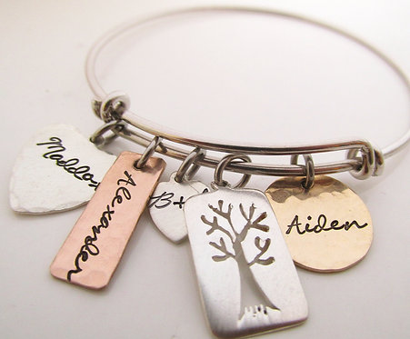 Family tree Bracelet- Mother's Bracelet