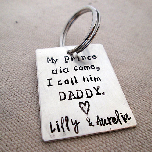 Daddy Keychain - My prince did come