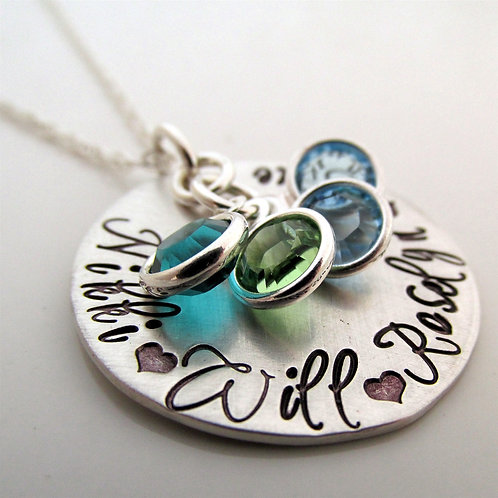 Mom Necklace - Loving Mother