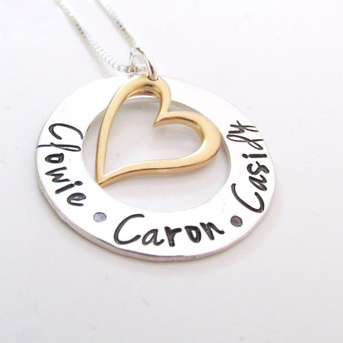 Loved - Personalized Mother's Necklace