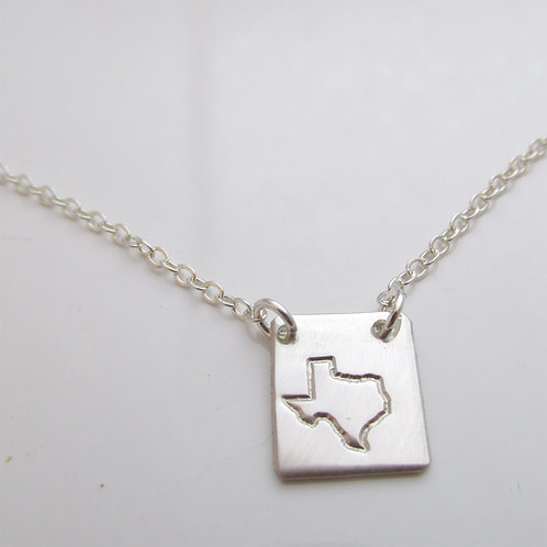 Custom State Necklace