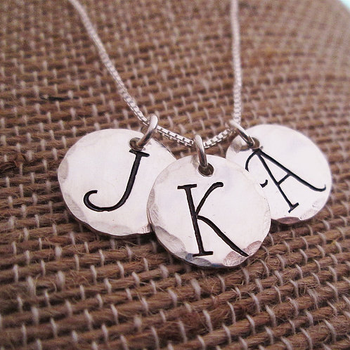 Mother's Jewelry - Initial Necklace - Barmbrack