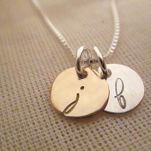 Mini Initials Necklace