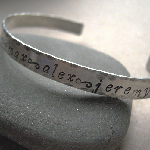 Mother's Cuff Bracelet