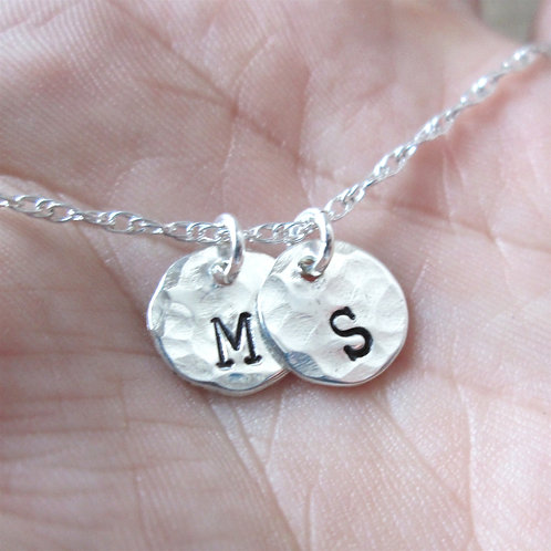 Tiny Letters - Mommy necklace