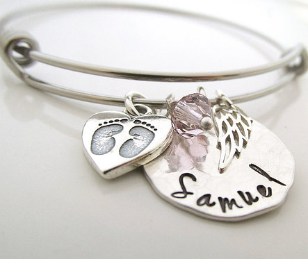Angel Baby Bracelet - Remembrance