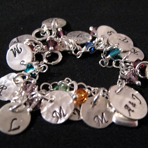 Grandmothers Bracelet  - Hand Stamped Jewelry