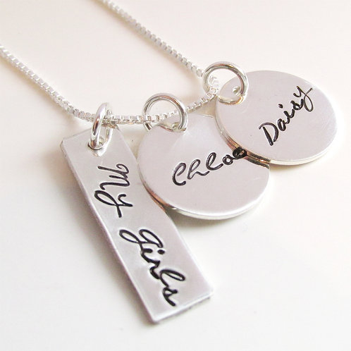 My Girls - Custom Name Necklace