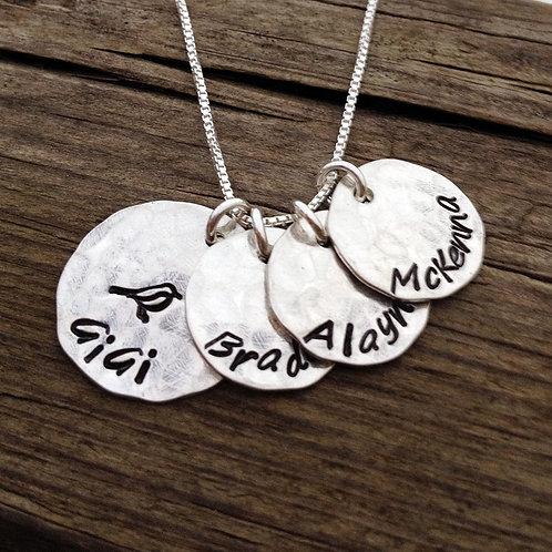GiGi Necklace - grandmother's keepsake necklace