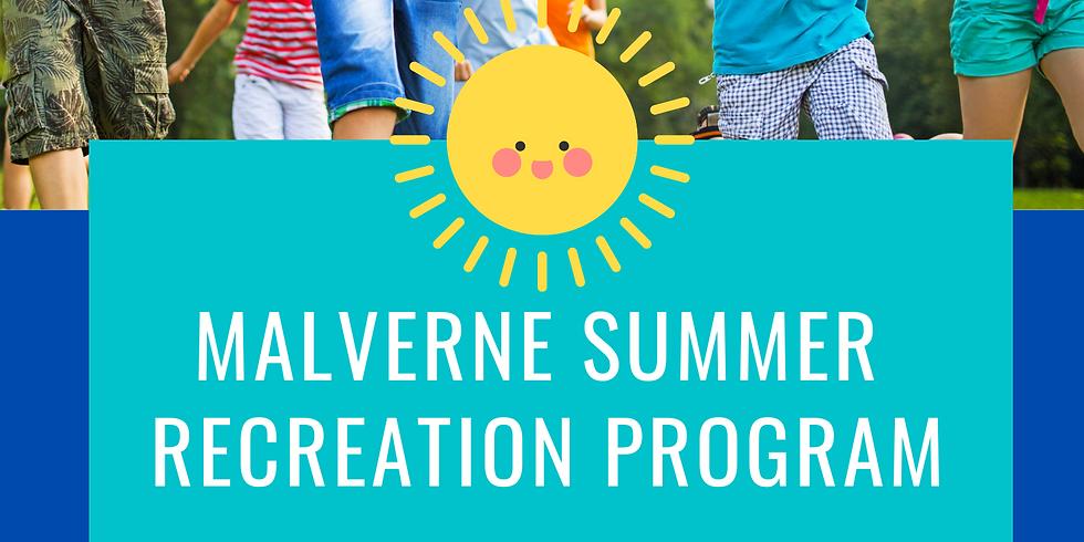 Village of Malverne Summer Recreation Program
