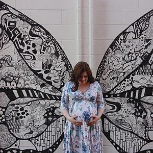 LeAnn and Steve   maternity  