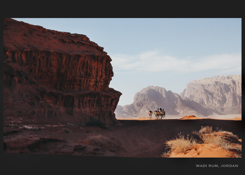 Wadi Rum 5x7