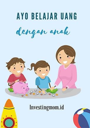 Belajar Uang untuk Anak Printable