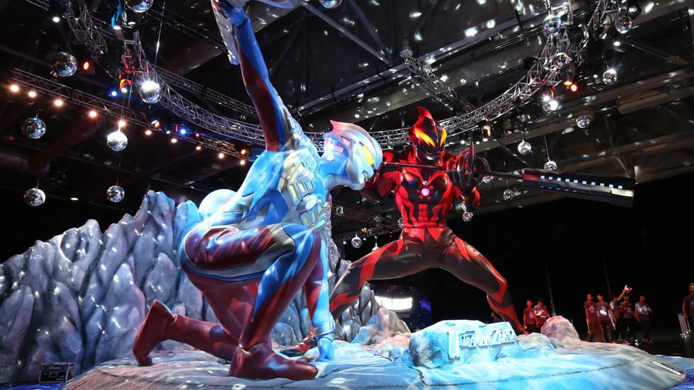 Ultra Heroes Acrobattle Live in Hong Kong