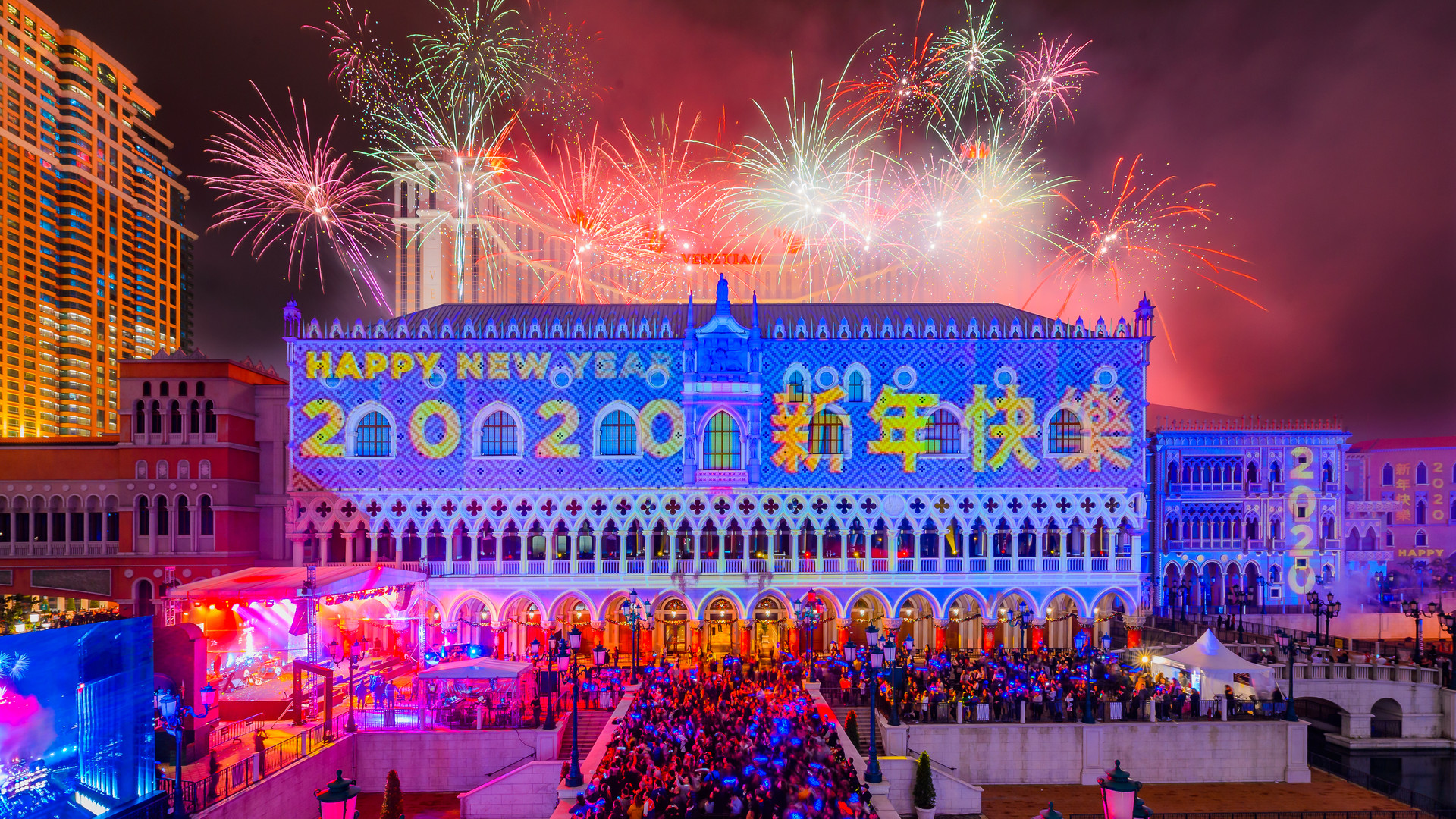 Sands Macau Countdown 2020
