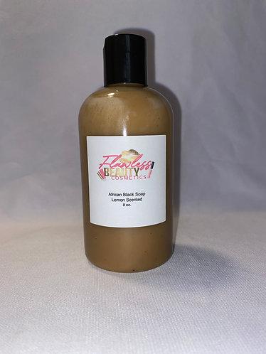 African Black Soap Lemon Scented