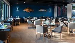 """Appliques restaurant """"Belle-Rive"""""""