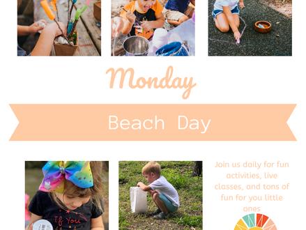 Virtual Spring Break: Beach Day