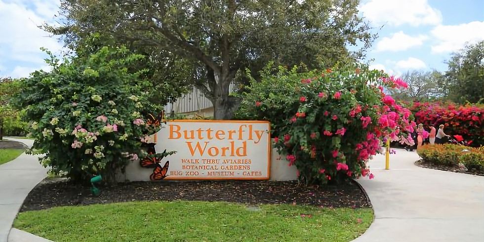 *SOLD OUT* Annual Butterfly World Field Trip