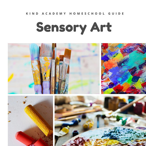 Sensory Art Curriculum Guide