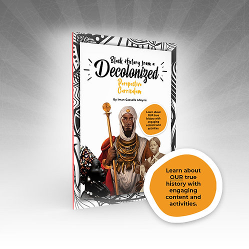 Pre-Order Black History from a Decolonized Perspective Curriculum Journal