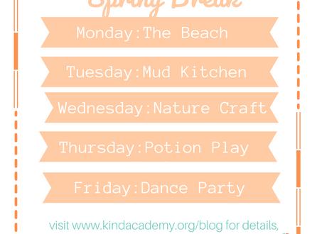 Virtual Spring Break Camp