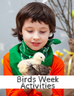 Birds Week at Nature School